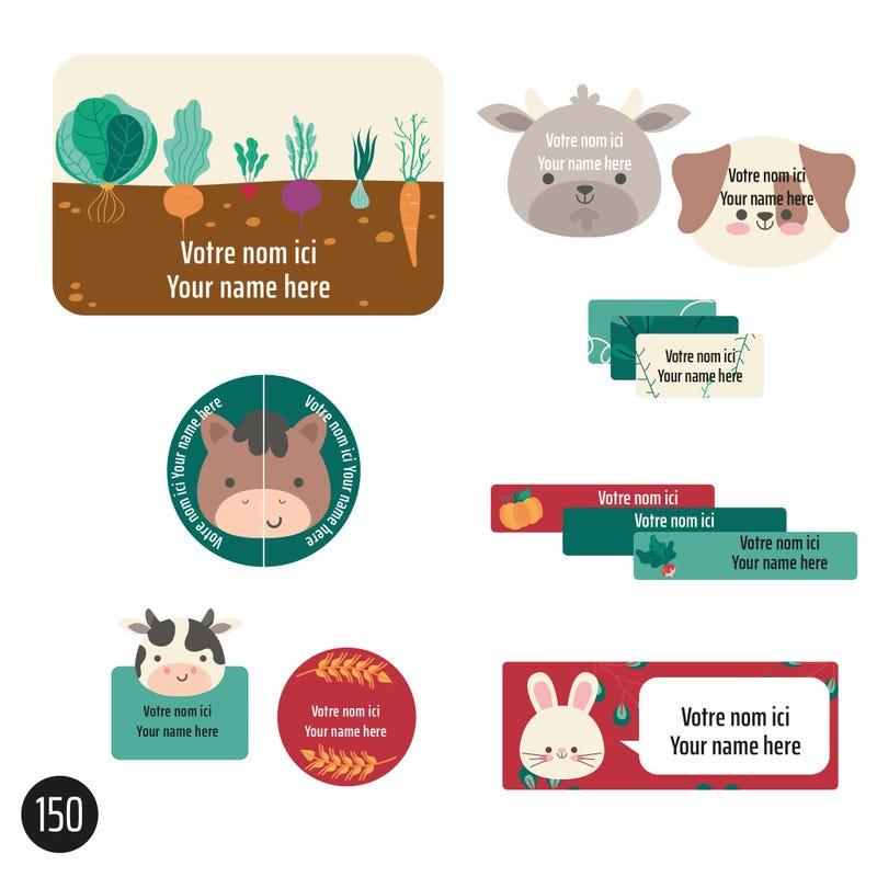 Essential Labels - Farm