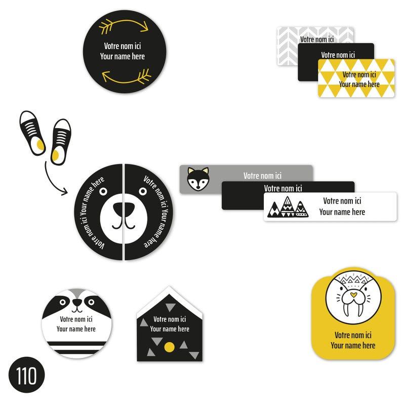 Daycare labels - Scandinavia