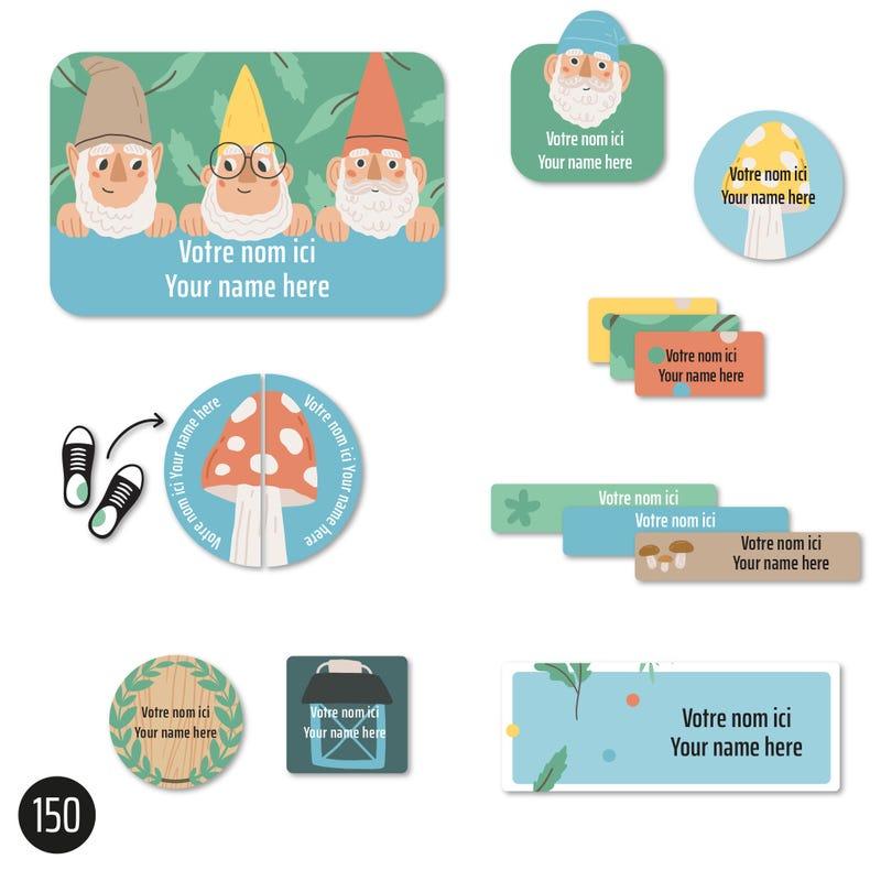 Étiquettes Essentiel - Gnomes