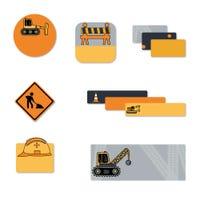 Étiquettes Scolaire - Camions