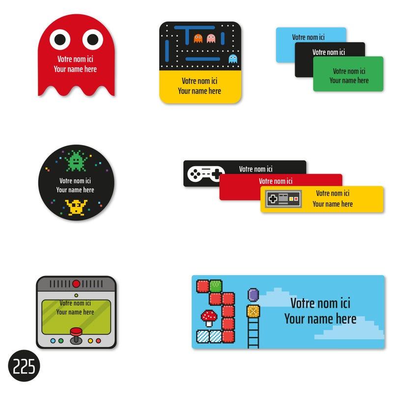 School labels - Video games