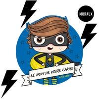 Wall Stickers - Valiant Superhero