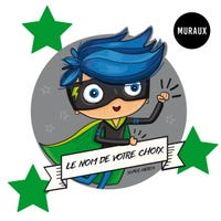 Wall Stickers - Fearless Superhero