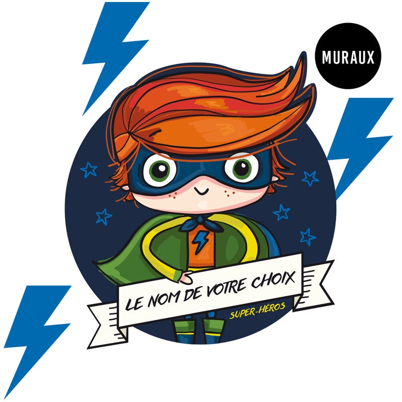 Wall Stickers - Smarty Superhero