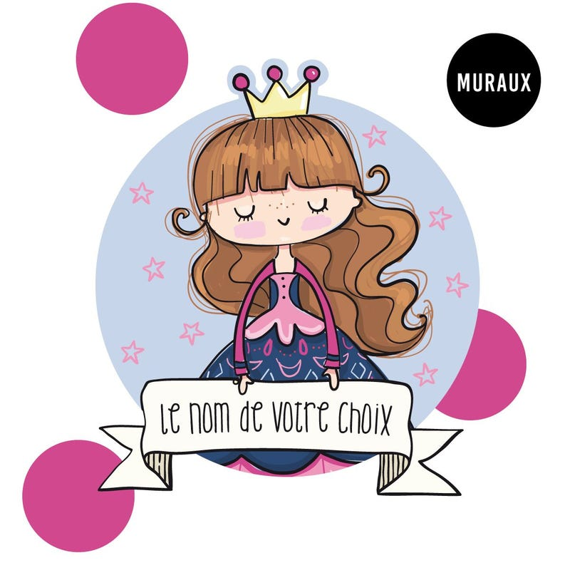 Wall Stickers - Princess Josephine