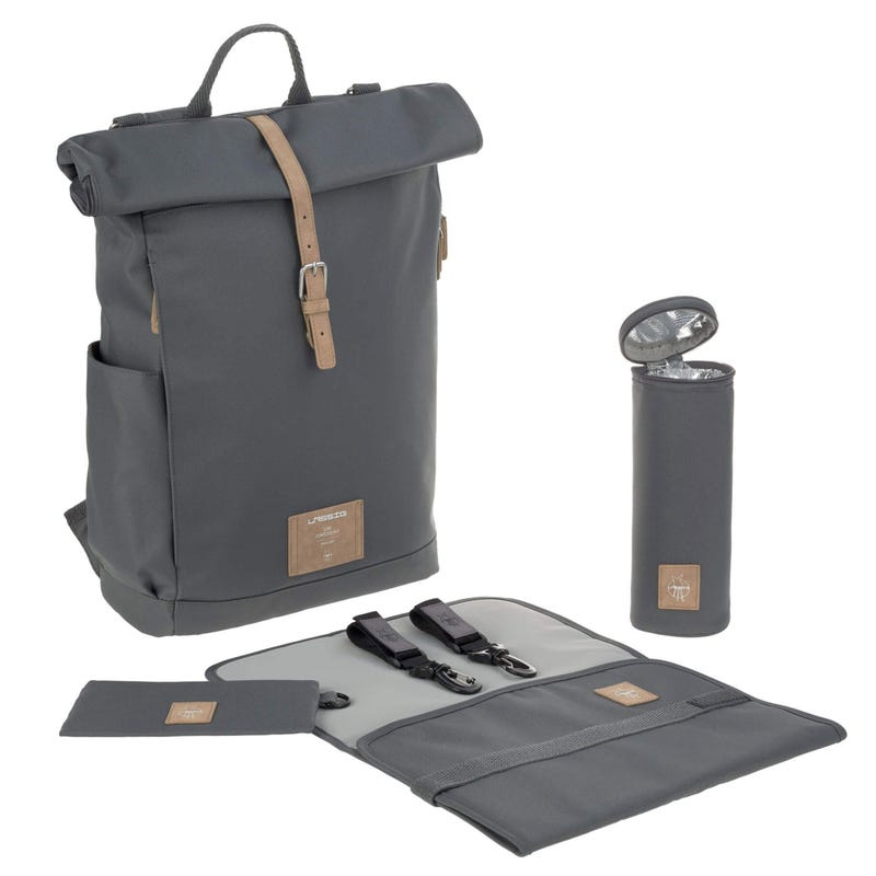 Sac à Couches Rolltop - Anthracite