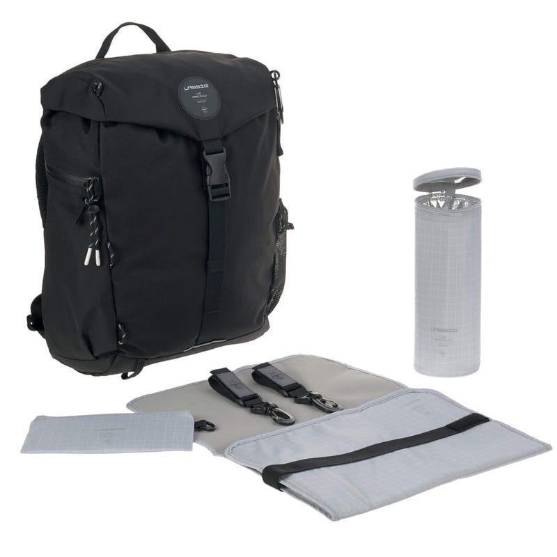 Outdoor Diaper Backpack - Black