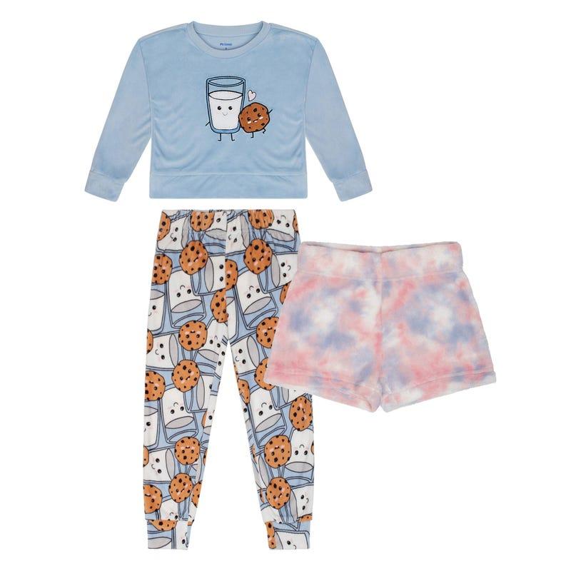 Pyjama 3 Pièces Déjeuner 4-14ans