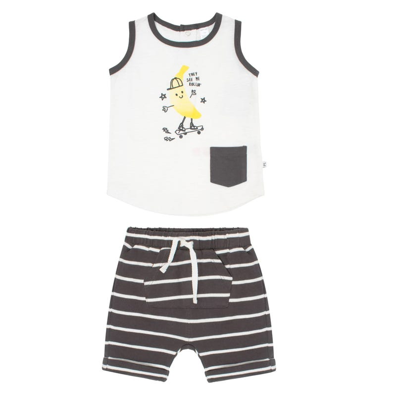 Banana Cami and Short Set 3-24