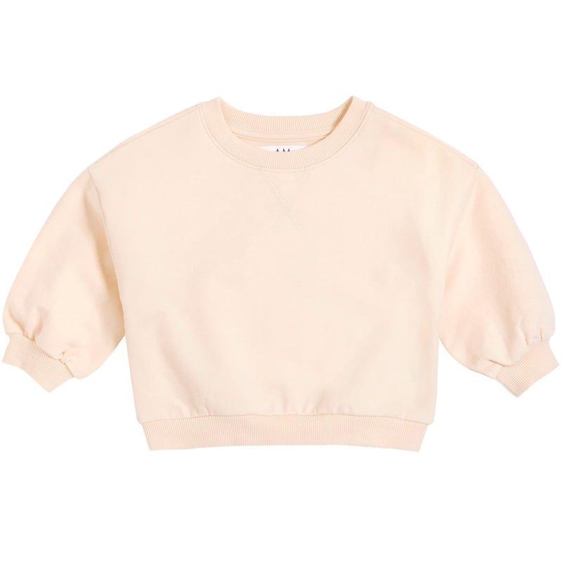 AM Solid Sweatshirt 6-24m
