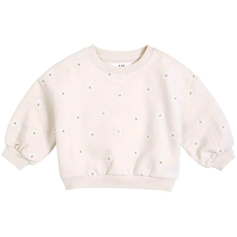 AM Daisies Sweatshirt 6-24m