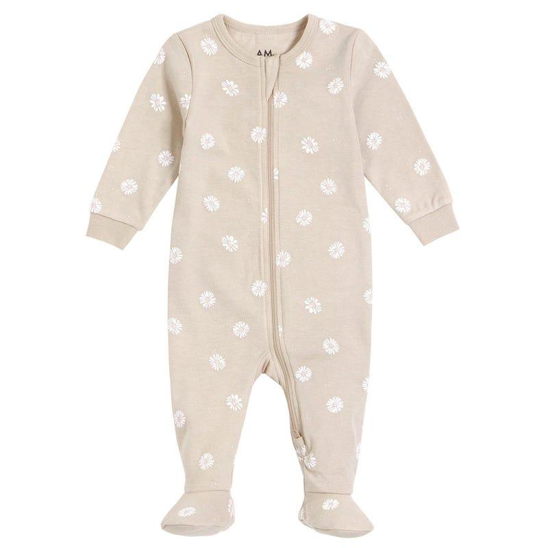 AM Daisies Pajamas 6-24m