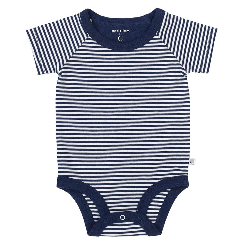 Navy striped bodysuit 0-24m