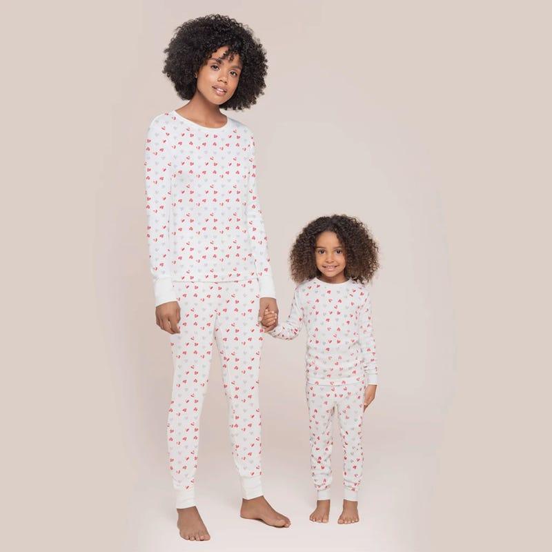 Pyjama Coeurs St-Valentin pour Adulte