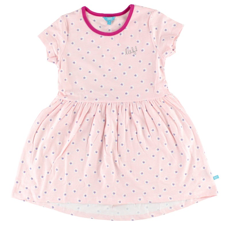 Picture Flowers Dress 3-7y