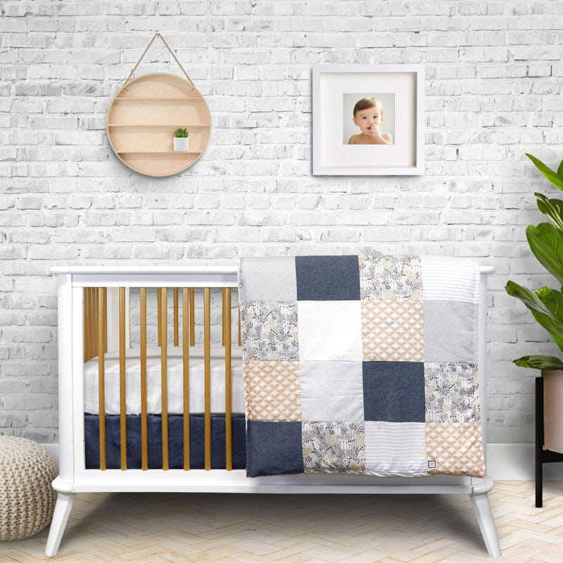 4-Piece Crib Bedding Set - Robin