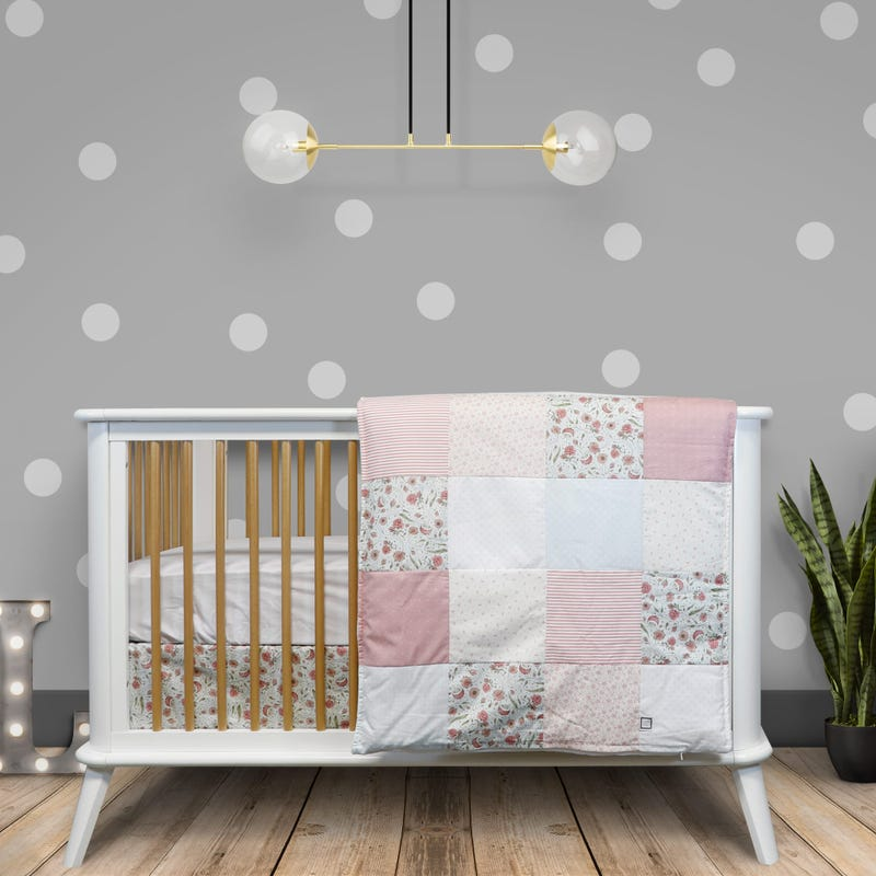 4-Piece Crib Bedding Set - Flavie