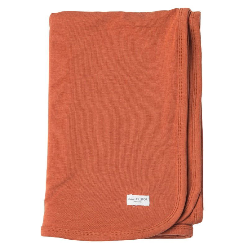 Couverture Jersey - Umbra Ocre