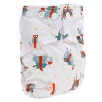Cloth Diaper 10-35lb - Festive