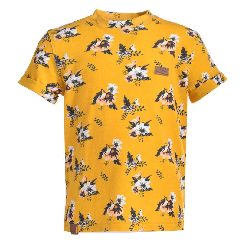 T-Shirt Fleurs 2-8ans