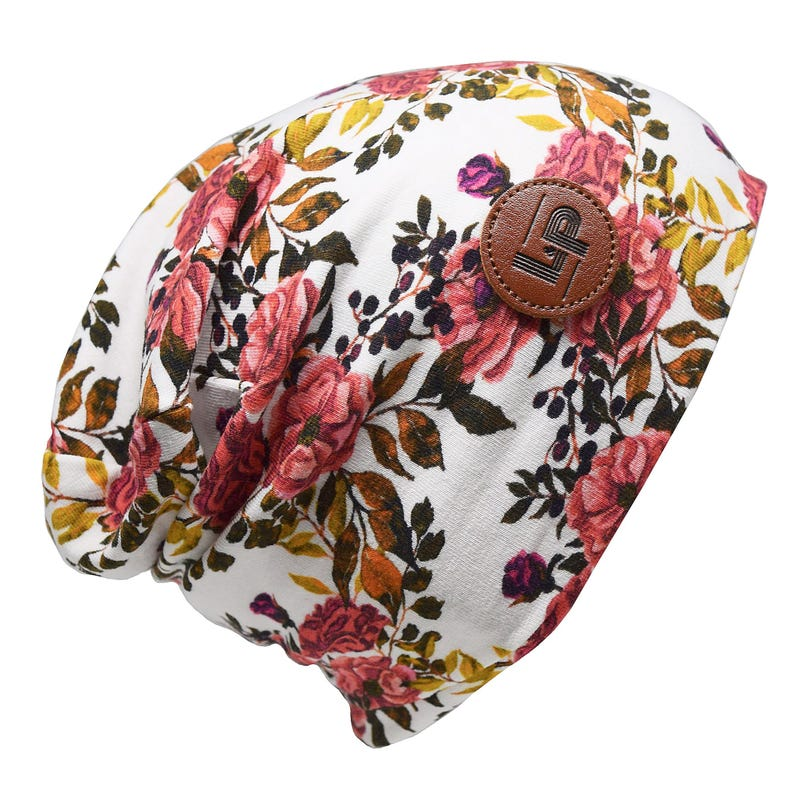 BOSTON FLOWER BEANIE 2-8