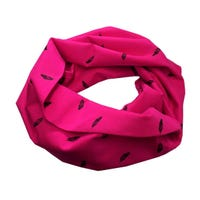 Infinity Scarf 5-8y - Feathers