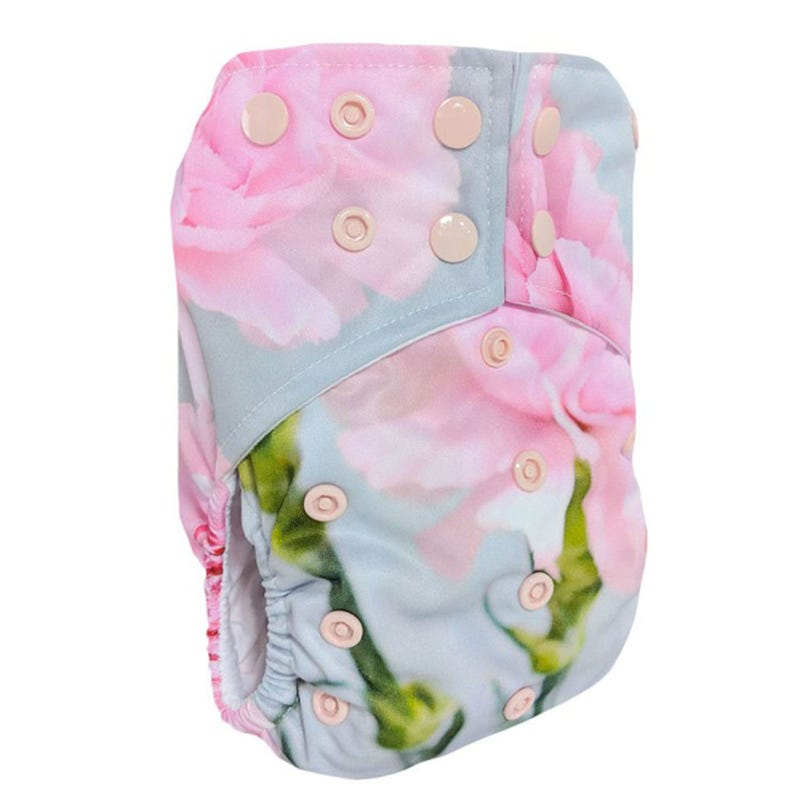 Cloth Diaper 10-35lbs - Peony