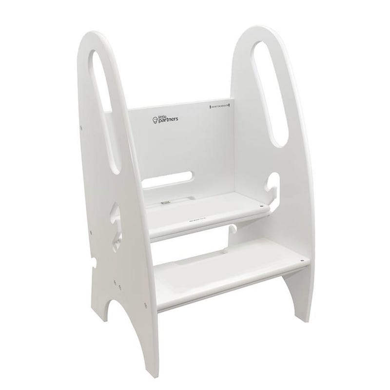 3-in-1 Growing Step Stool - White