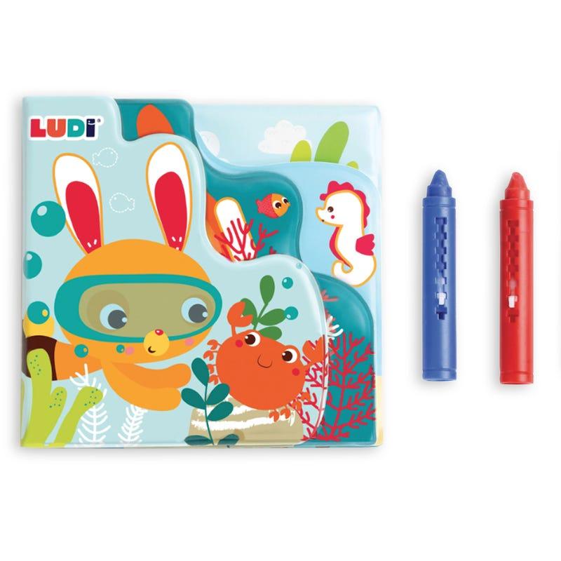 Bath Book To Coloring