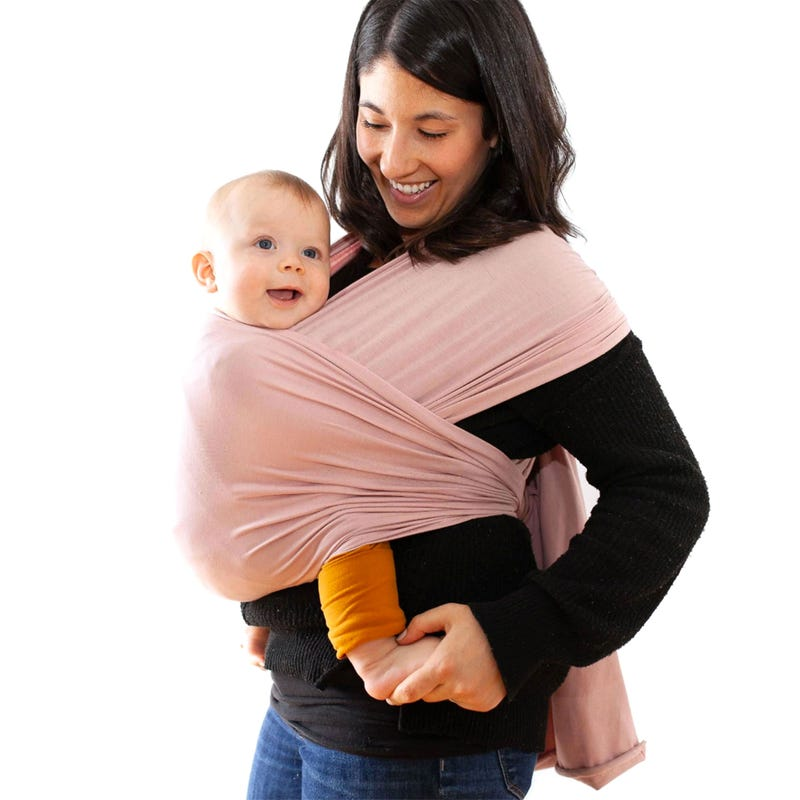 Cotton Sling Babycarrier MK - Blush Pink