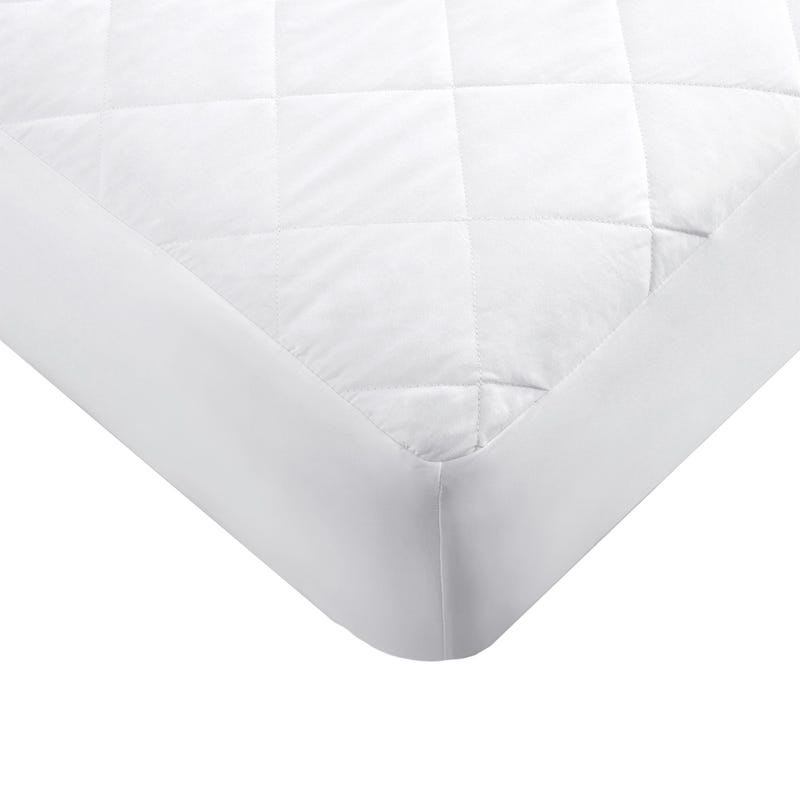 Queen Quilted Mattress Protector + 2 Pillow Protectors