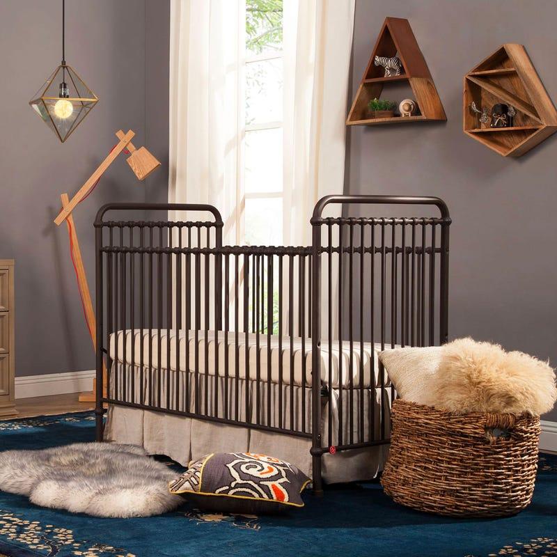 Abigail 3-in-1 Evolution Crib - Vintage Iron