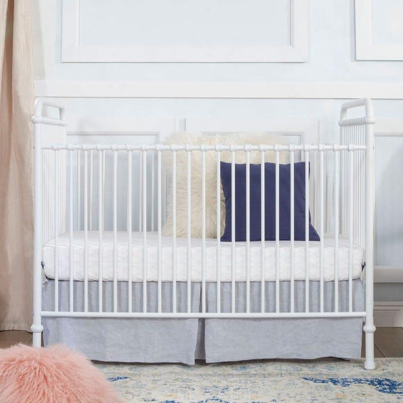 Abigail 3-in-1 Evolution Crib - Washed White