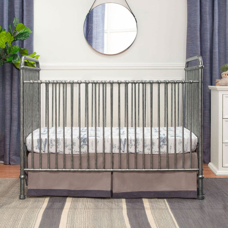 Abigail 3-in-1 Evolution Crib - Vintage Silver