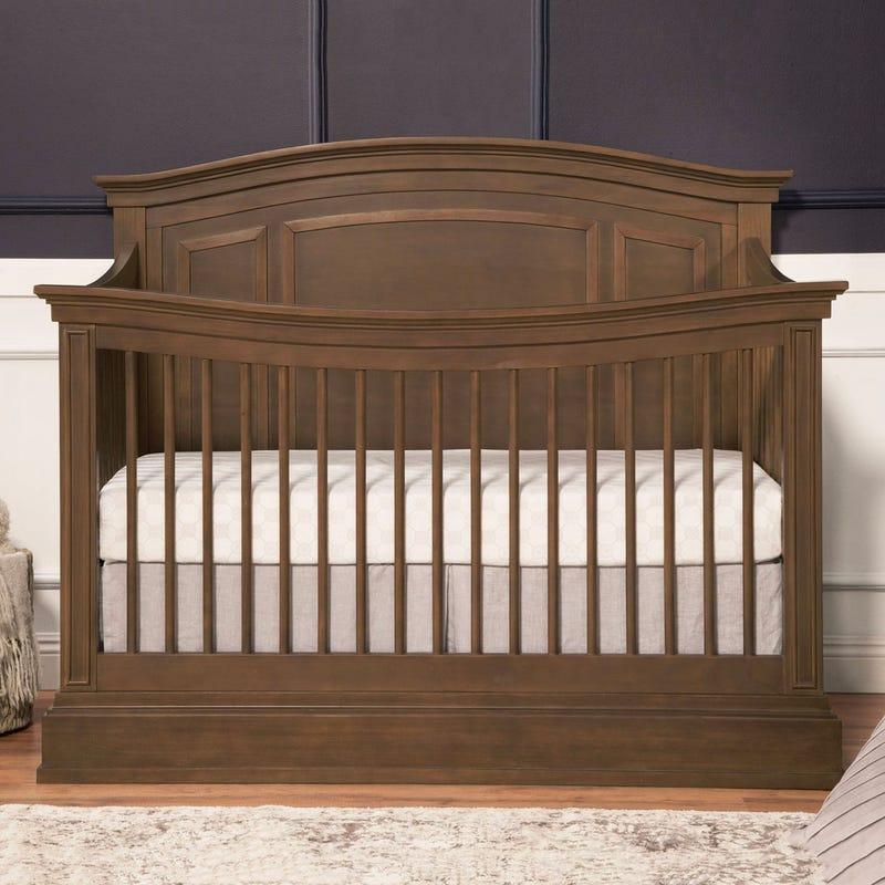 Durham 4-in-1 Convertible Crib - Derby Brown