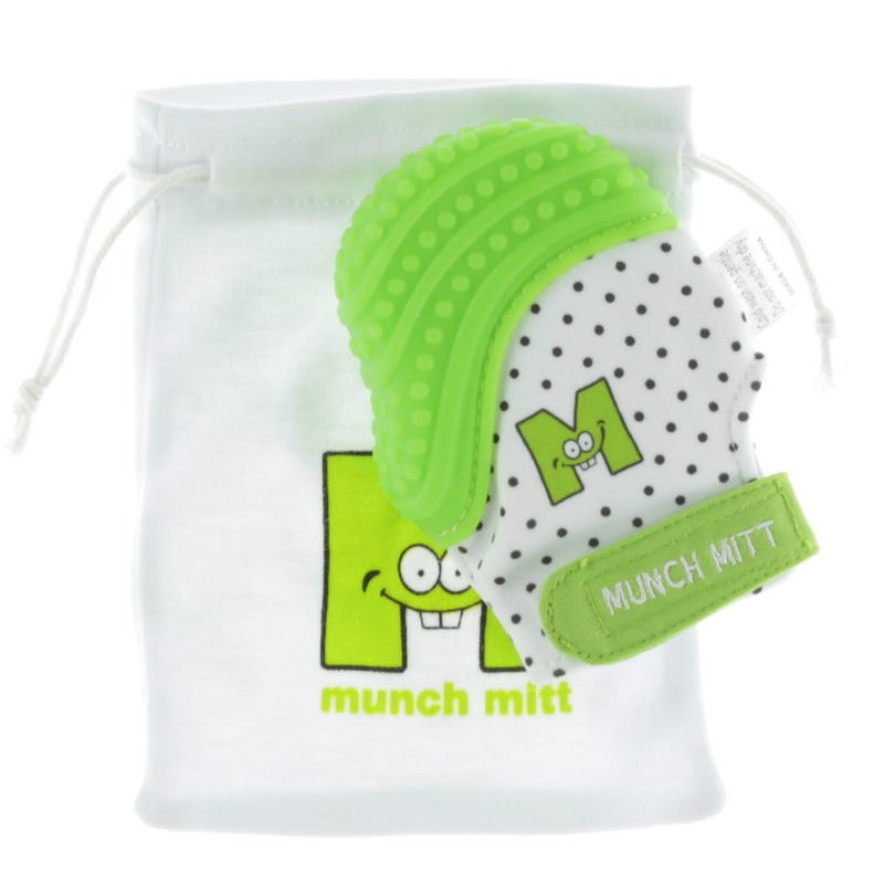 Mitaine De Dentition Munch Mitt - Verte