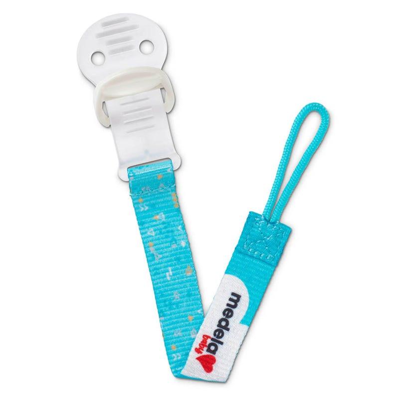 Pacifier Clip - Aqua