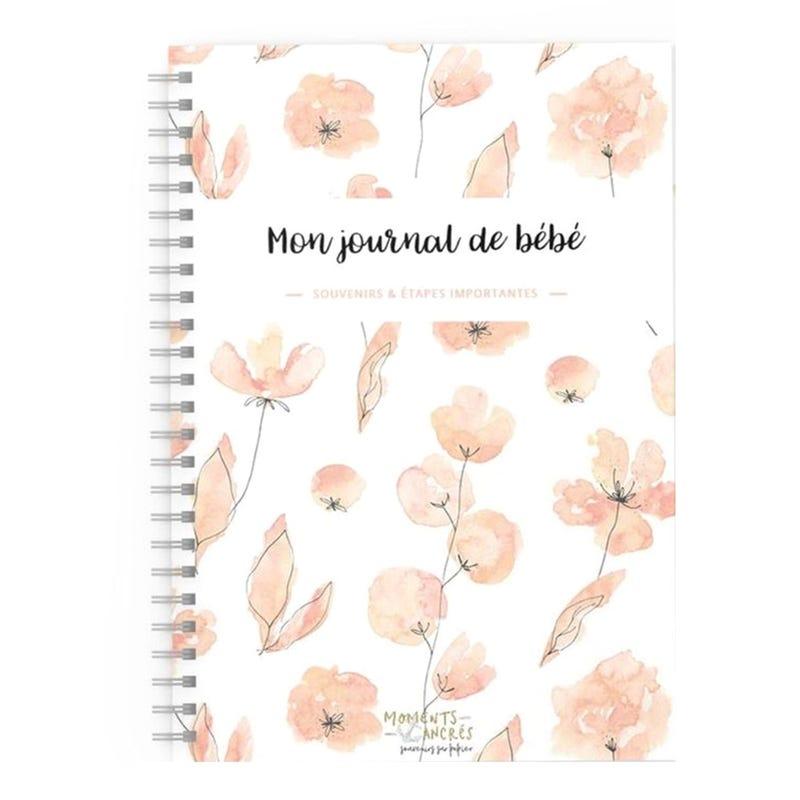 Mon Journal de Bébé - Fleur Corail