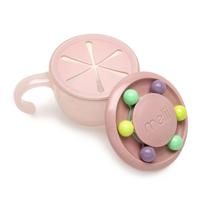 Abacus Snack Container 200 ml - Pink