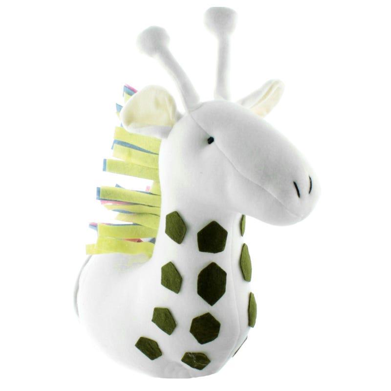 Tête Girafe Décorative