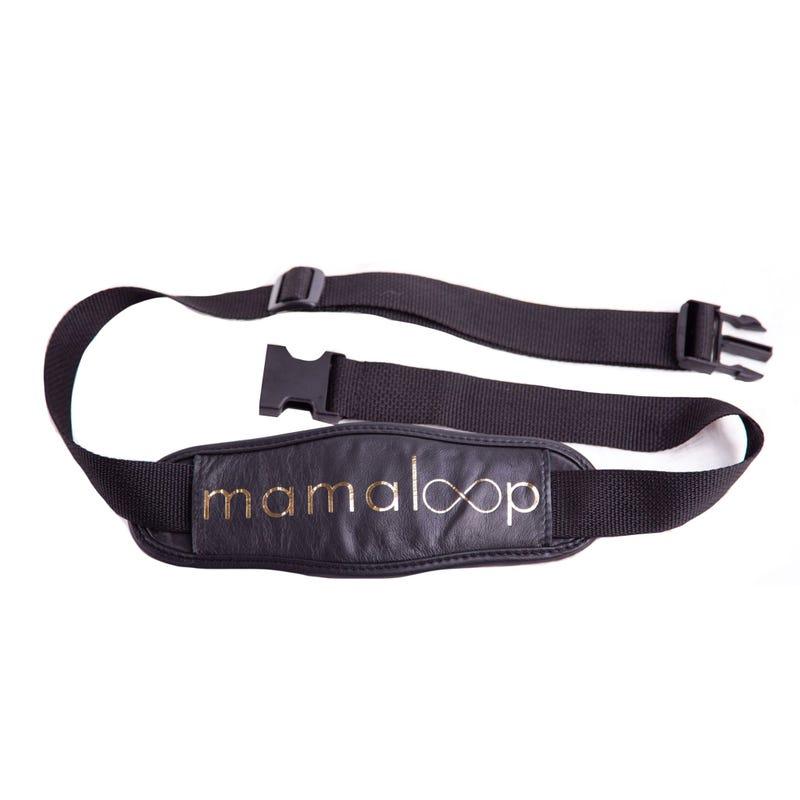 Bandoulière Mamaloop - Noir / Or