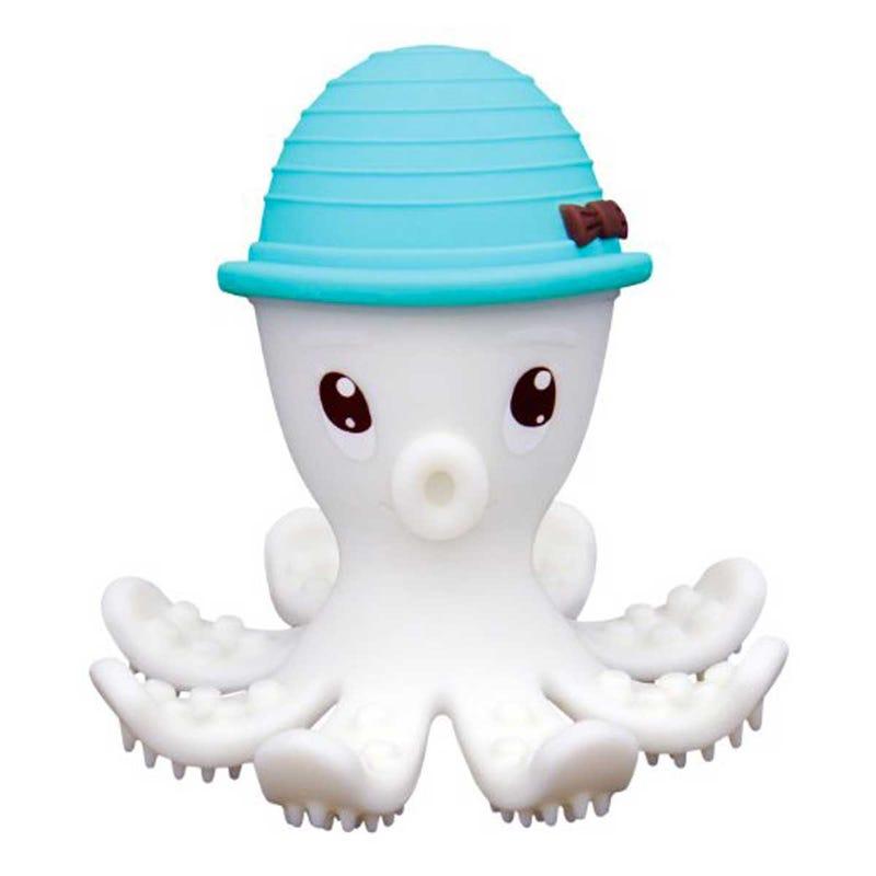 Octopus Teething Toy - Blue