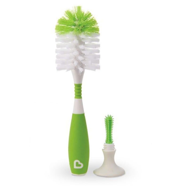 Bristle Bottle Brush - Green