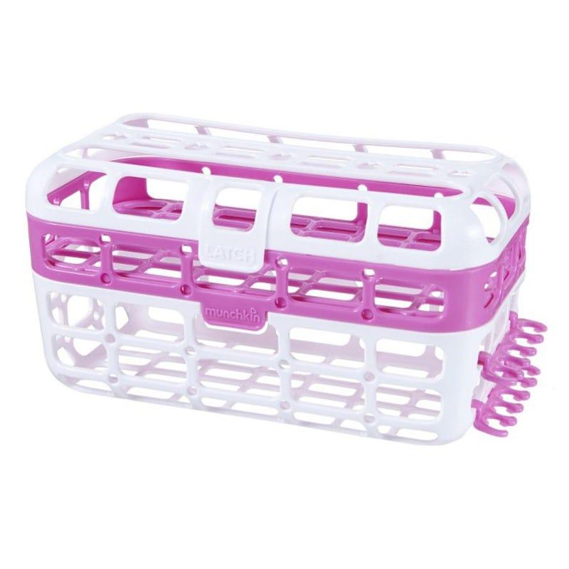 High Capacity Dishwasher Basket - Pink