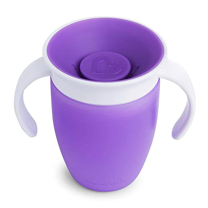 Miracle 360 Trainer Cup  7oz - Purple