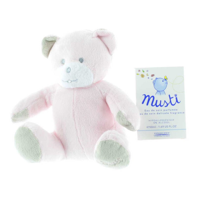 Coffret Musti Ours- Rose