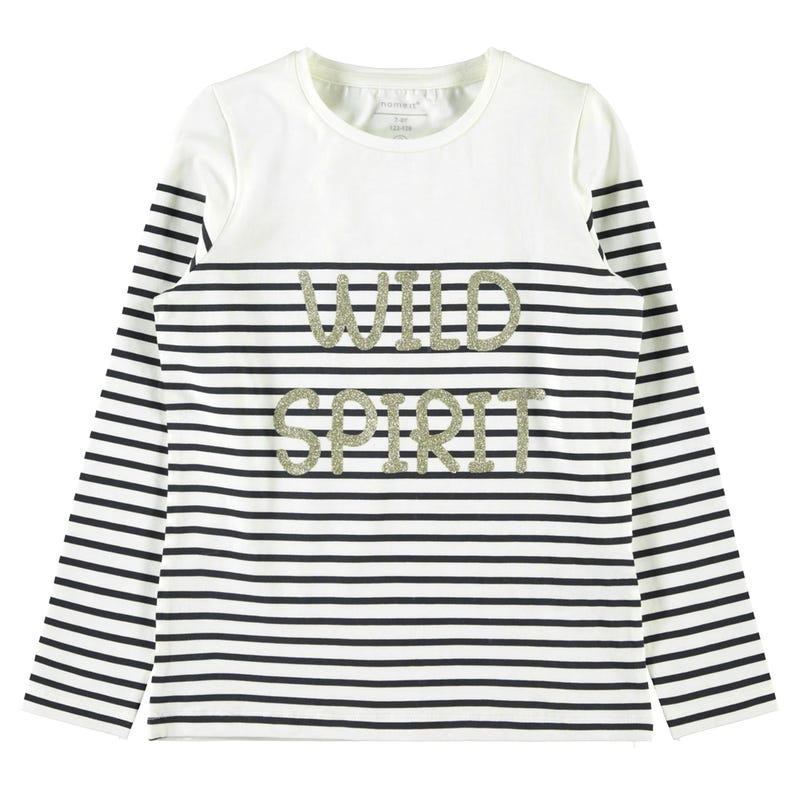 T-Shirt Rayé Spirit 7-14ans