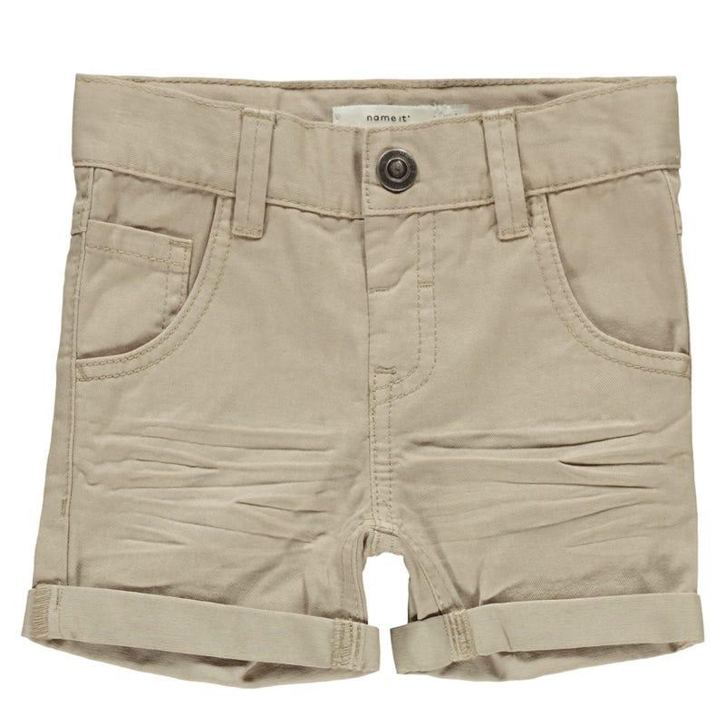 Basic Twill Shorts 2-7y