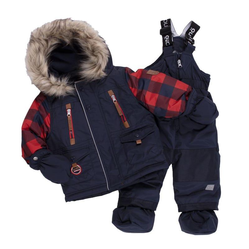 Buffalo 2pcs Snowsuit 12-24m