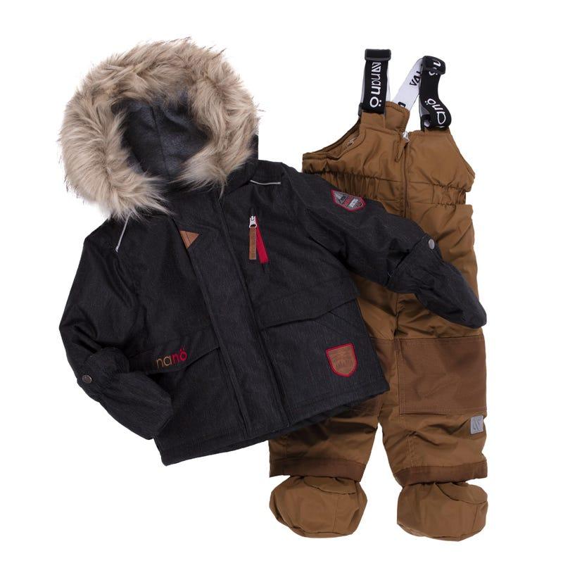 Husky 2pcs Snowsuit 12-24m